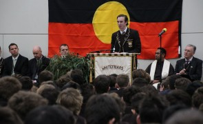 College Assembly following the Welcome to Land Ceremony August 2015