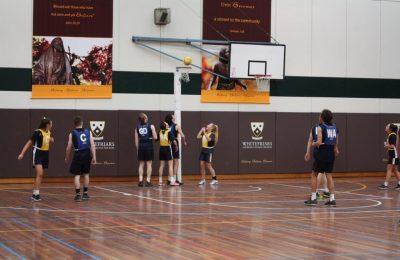 Health and PE week CLC WFC Netball Match 1