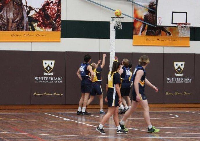 Health and PE week CLC WFC Netball Match