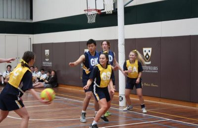 Health and PE week CLS WFC Netball Match 2